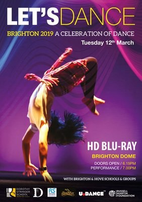 LETS DANCE TUESDAY 12th MARCH 2019 BLU RAY DVD (HD)