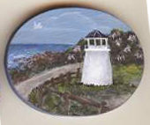 Marginal Way Lighthouse Pin