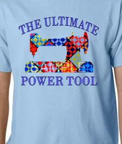 Lt. Blue Ultimate Power Tool Tee-shirt SMALL