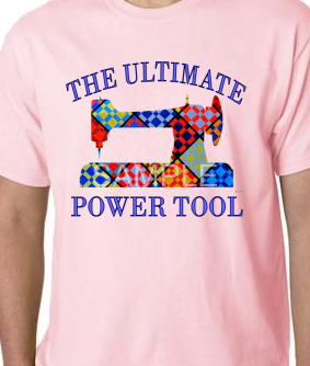 Lt. Pink Ultimate Power Tool Tee-shirt SMALL
