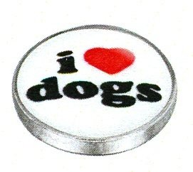 LD0718  I HEART DOGS
