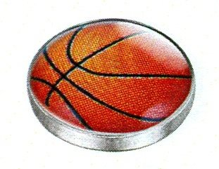 LD1702 ARTFULLY BASKETBALL