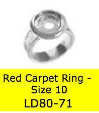 LD8071 DELUX RING SZ 10