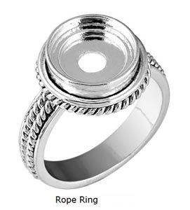 LD8092 ROPE RING SZ10