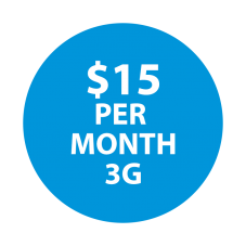 Selectel Wireless $15  (3G Device Only)  300 Minutes / Unltd Text & 50 MBs of Data
