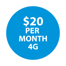 Selectel Wireless $20  (4G Device Only)  Unltd Talk / Unltd Text & 100 MBs of Data