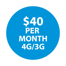 Selectel Wireless  $40  Unltd Minutes  / Unltd Text & 7 GBs of High-Speed Data