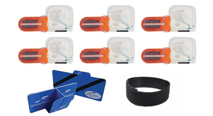 Large Needle Trap Kit with Mini-Mount and Wrist Mount 00111