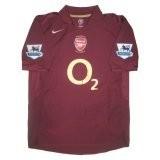 2005-06 Arsenal Home Soccer Jersey Shirt Henry #14 (Replica)