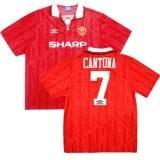 1992 -1994 Manchester United Home Retro Cantona #7 (Replica)
