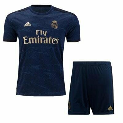 Adidas Real Madrid Away Soccer Jersey Adult Uniform Kit 19/20