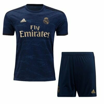 Adidas Real Madrid Away Soccer Jersey Adult Uniform Kit 19/20