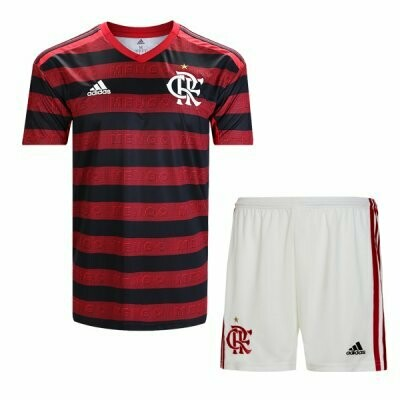 Adidas Flamengo  Home Soccer Jersey Adult Uniform Kit 19/20