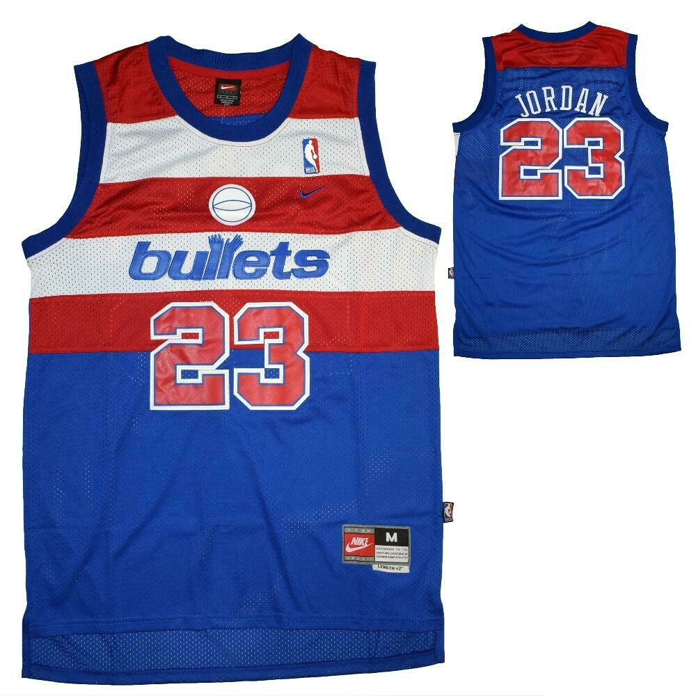 Nike NBA Michael Jordan Washington Bullets Swingman Classics Jersey
