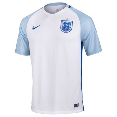 Nike England Official Home Jersey Shirt