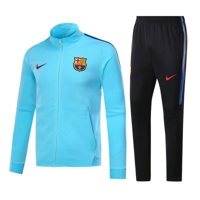 Nike Barcelona Sky Blue Training Suit 2018