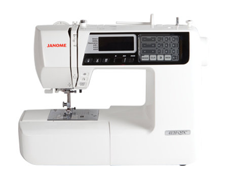Janome 4120 QDC (available in the store and for shipping today!)