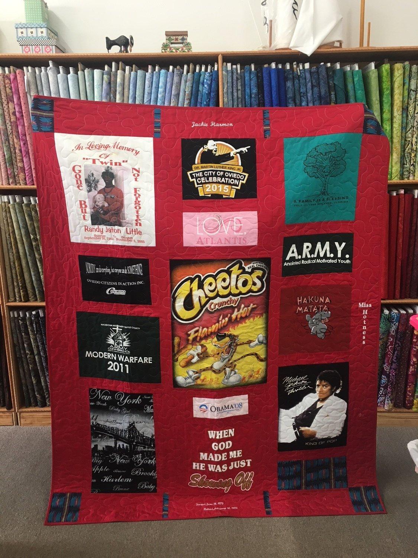 T-Shirt/Memory Quilt Lap Size deposit