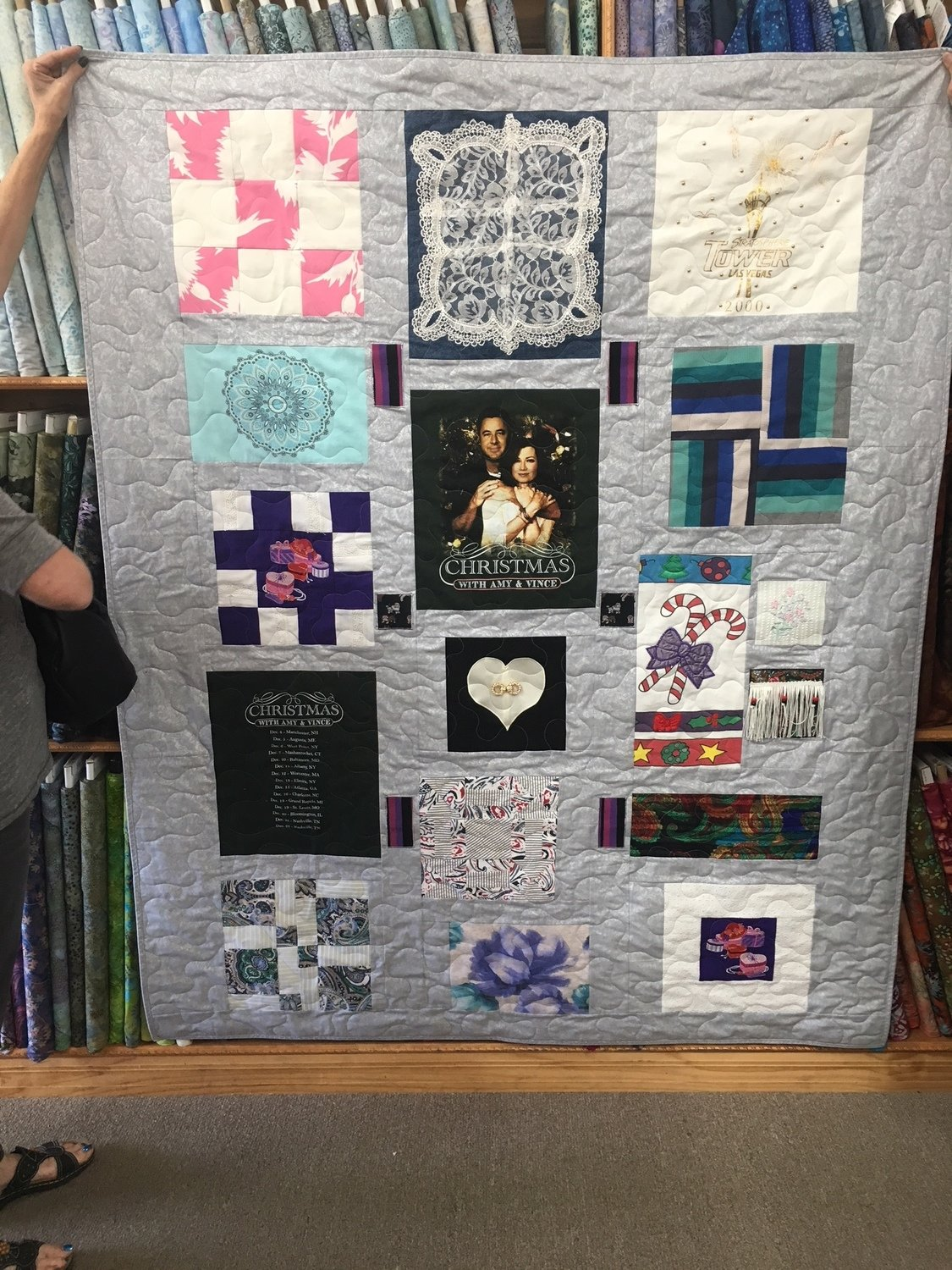 T-shirt and Memory Quilt Workshop