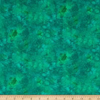 Timeless Treasures Solid-ish Watercolor Texture Jungle Fabric