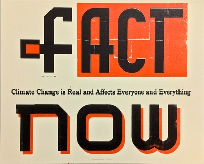 Letterpress: [f]ACT NOW