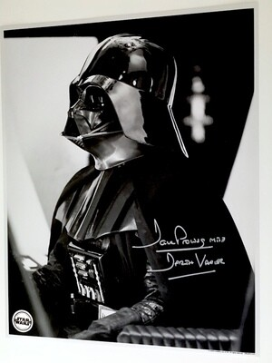 11X14 PHOTO SIGNED BY DAVE PROWSE