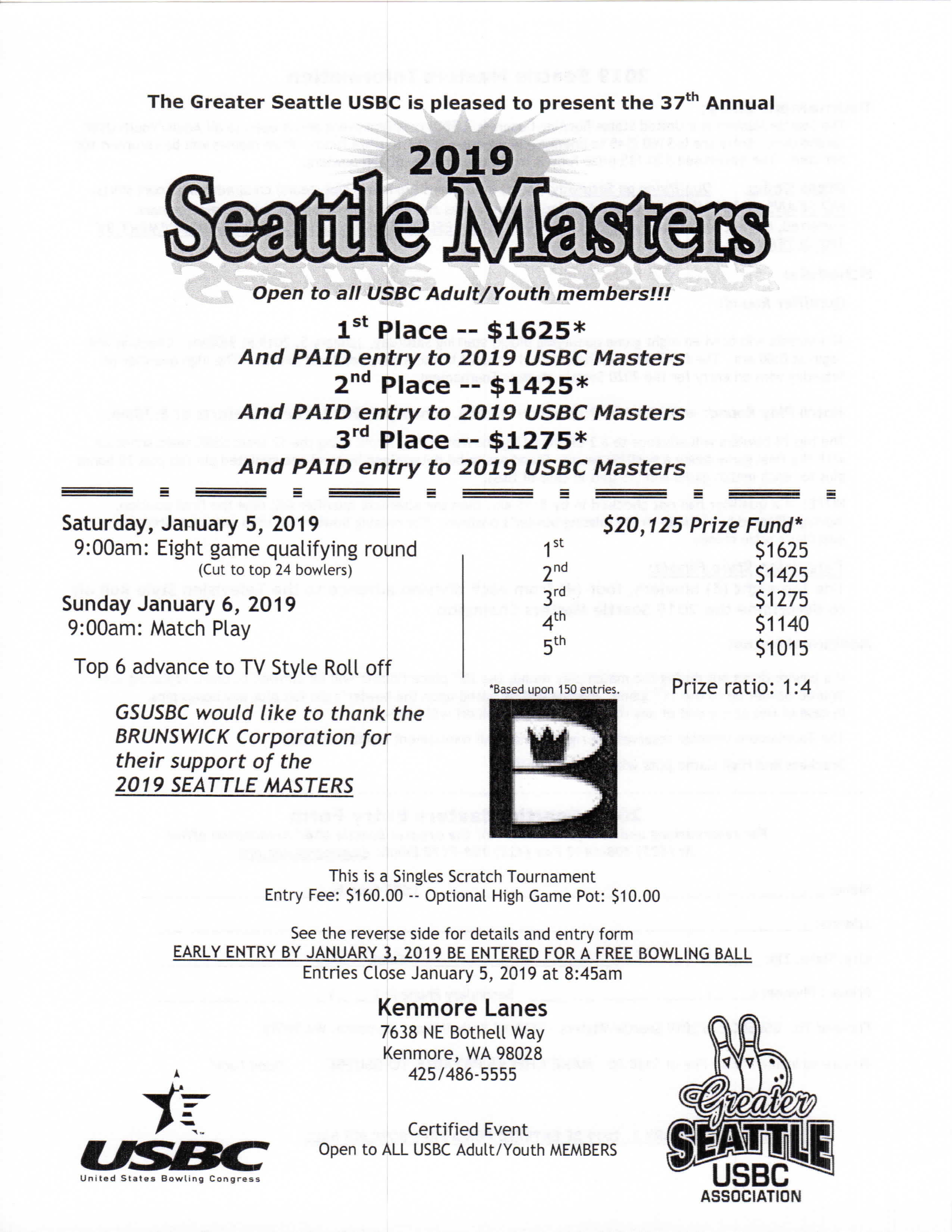 Seattle Masters Tournament