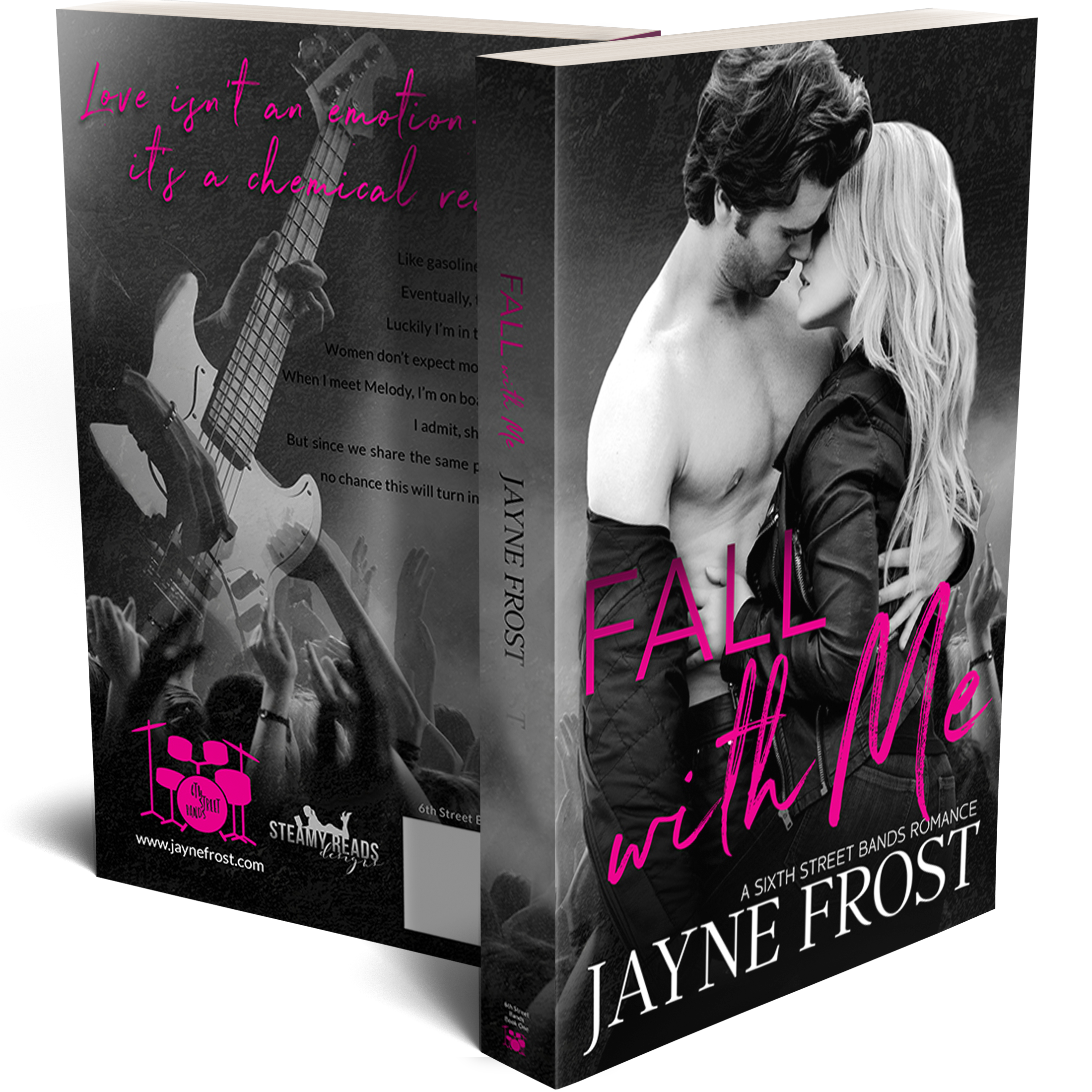 Fall With Me Signed Paperback 00002