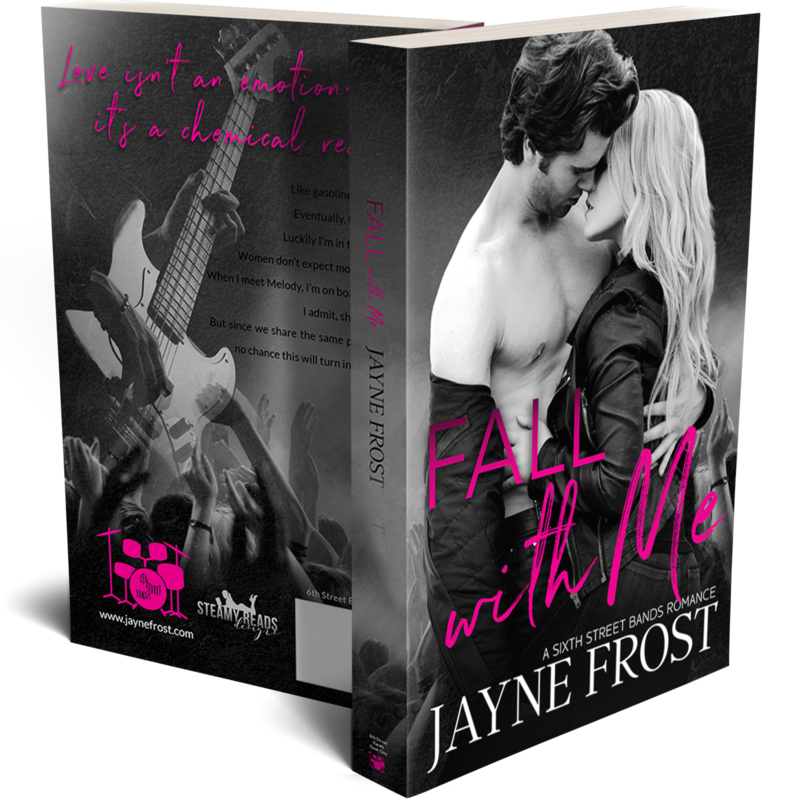 Fall With Me Signed Paperback