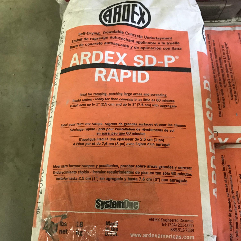 ARDEX SD-P Rapid Patch - 40lb. Bag