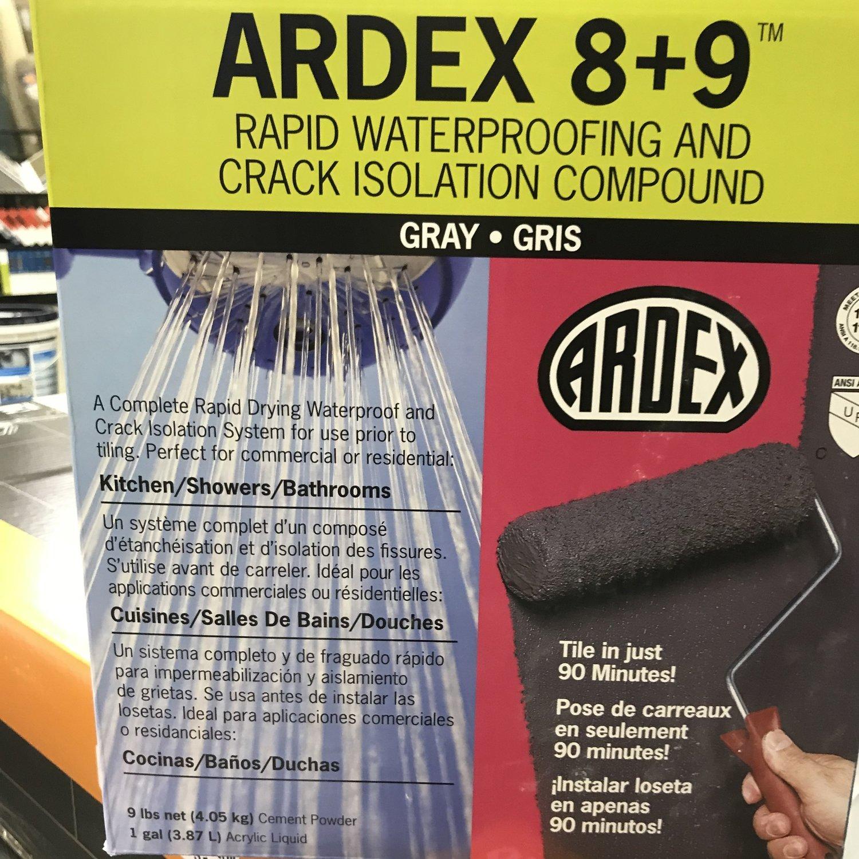 ARDEX 8+9 Waterproofing Compound Kit