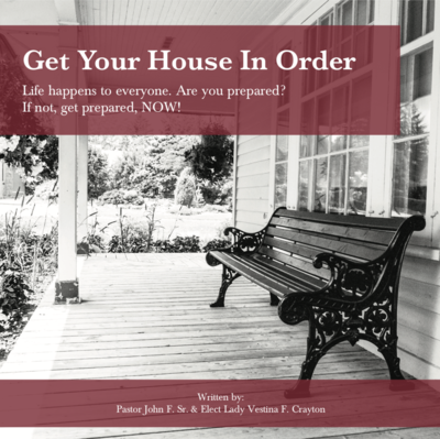 paperback - Get Your House in Order