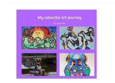 My colourful art journey - Ebook version