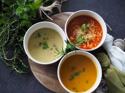 Bacon, Potato & Leek Soup - Frozen Meal