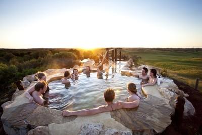 Dine & Bathe for 2 @ Peninsula Hot Springs