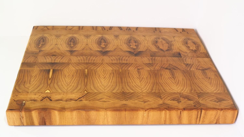 Tabla de corte de Acacia - End Grain Cutting Board