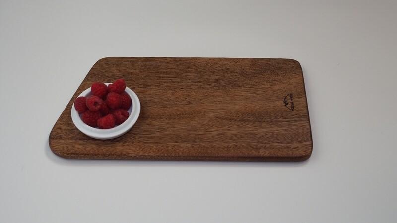 Tabla de presentación de alimentos sapelli