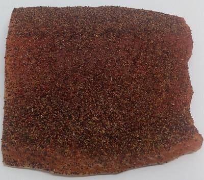Eldhusrøkt laks m/krydderblanding, 1/2 side