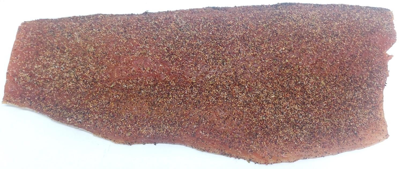 Eldhusrøkt laks m/krydderblanding, 1/1 side