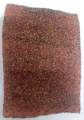 Eldhusrøkt laks m/krydderblanding, 1/3 side