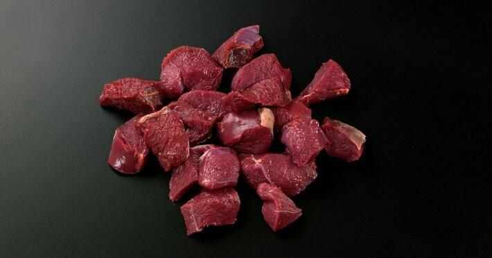 Grytekjøtt av elg (ca 1 kg)