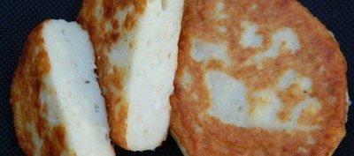 Klippfiskburger med ost