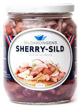 Sherry-sild m/ løk og sherry