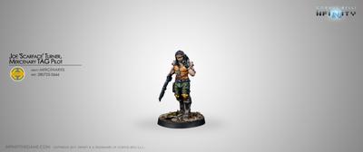 Joe Scarface Turner, Mercenary TAG Pilot