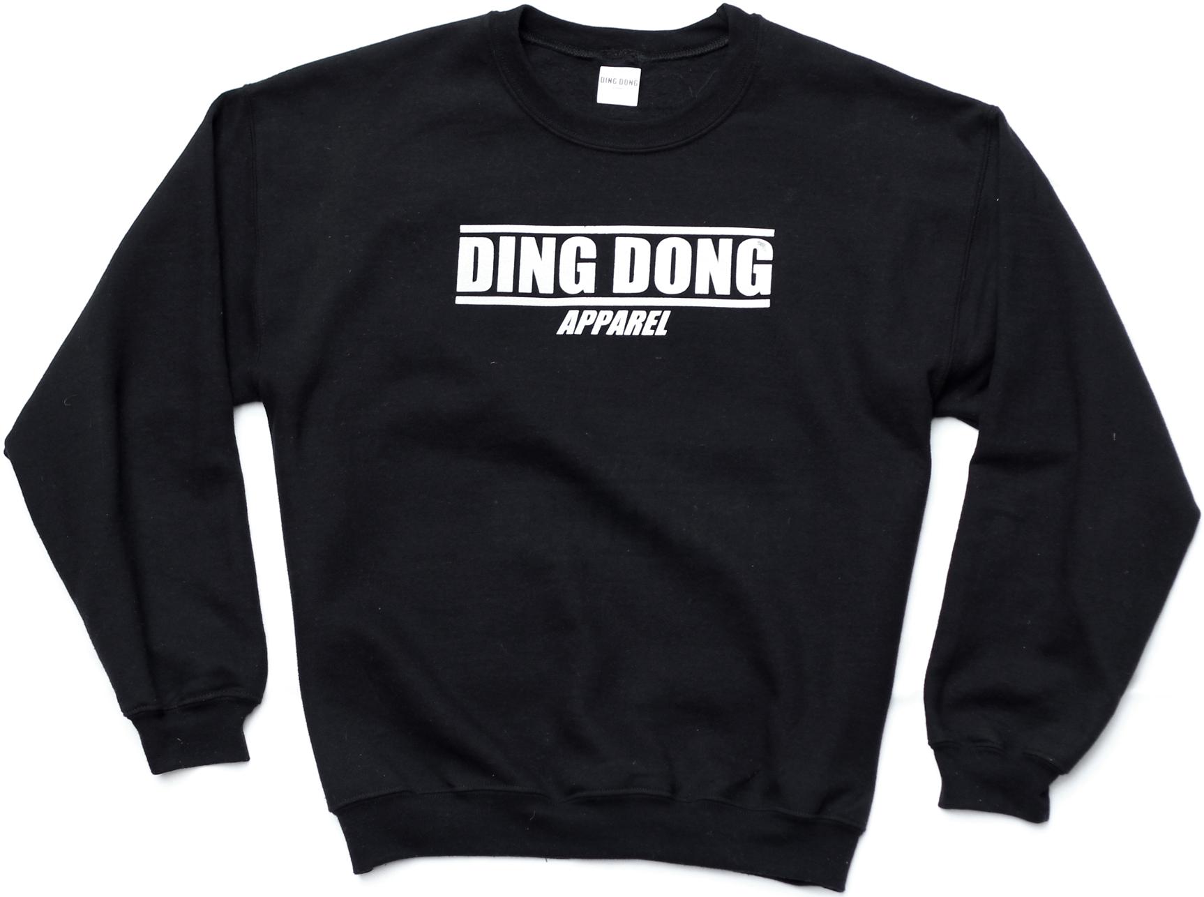 Large Print Sweatshirt - Black 00002