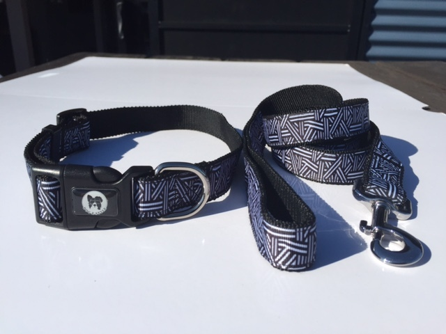 Designer Collar and Lead Combo- 6 patterns to choose from