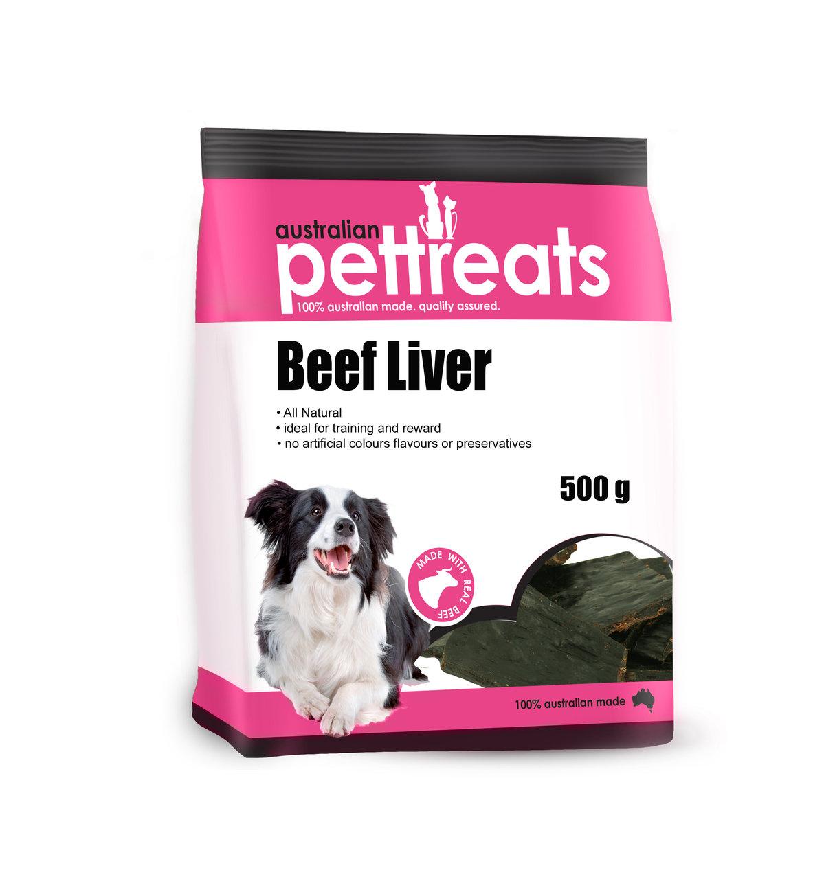 Australian Beef Liver Treats 00003