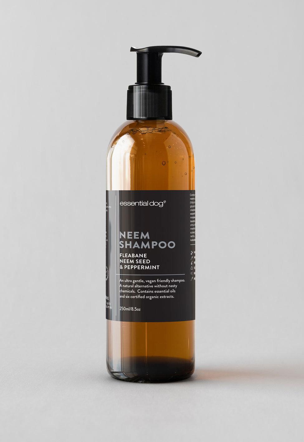 Moisturising Dog Shampoo: Neem Seed, Fleabane & Peppermint 00032