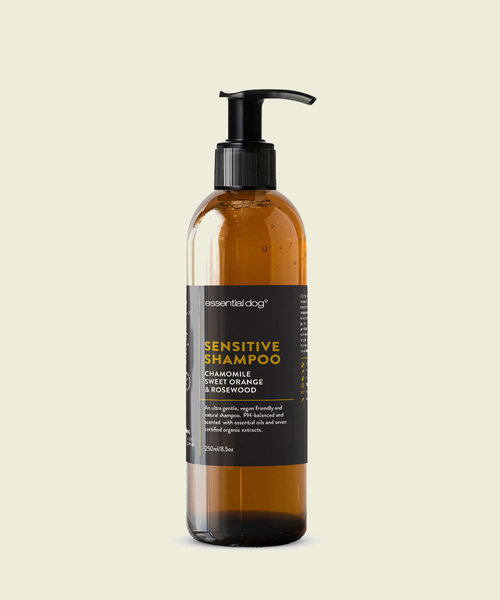 Sensitive Dog Shampoo: Chamomile, Sweet Orange & Rosewood 00033