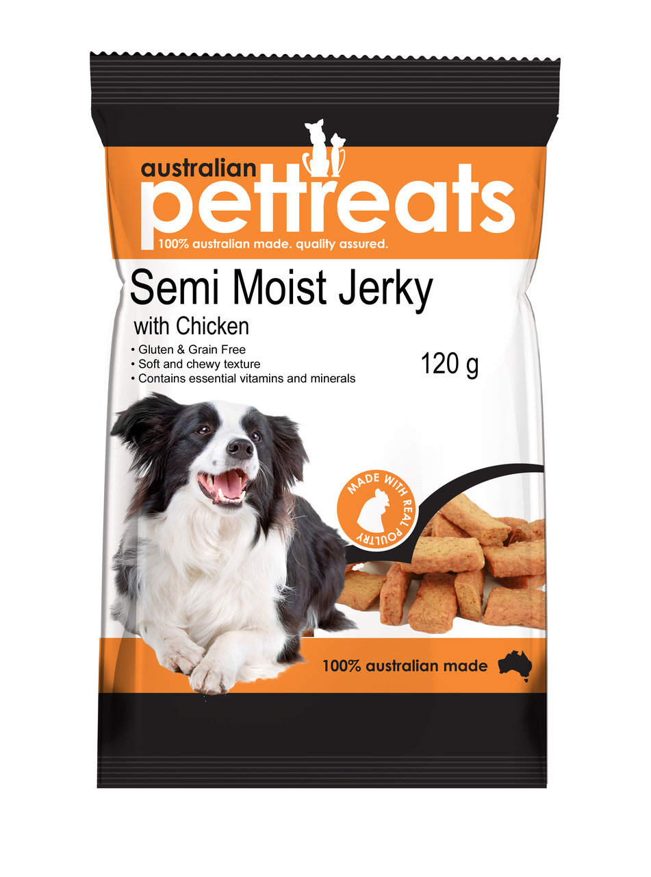 Chicken Semi Moist Jerky Gluten and Grain Free